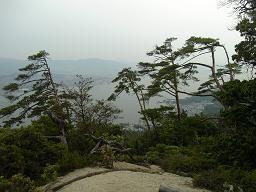 景色4 頂上は近い