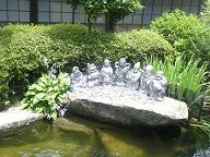 お池の七福神