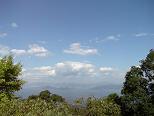 頂上の景色