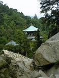 登山道から見た大聖院2