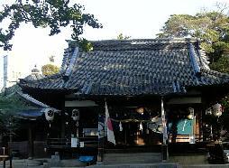 冬木神社の朝