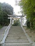 神社への道3
