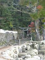 大聖院コース登山口