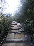 工事前の登山道