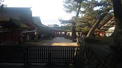 夕方の厳島神社