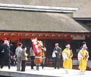 山伏さんも神社に行きました