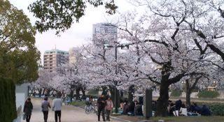 4月3日の平和公園