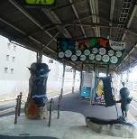 JR米子駅のブロンズ像