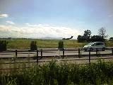 車窓 米子空港