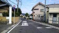 ポイント2:駅へ行く道