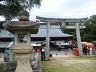 地御前神社の鳥居です