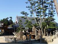 大願寺の厳島弁天様