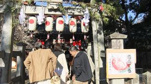 3-3 荒胡子神社のお祭り