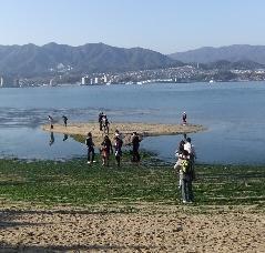 4-2 引き潮の浜
