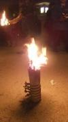 私の松明にも火を付けました
