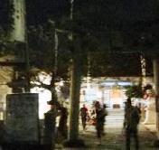 夜の安芸津彦神社