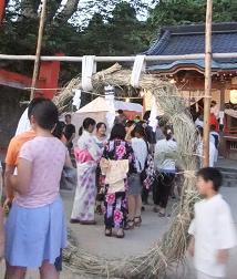 塩屋神社2 茅の輪