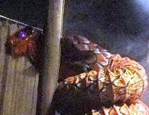 ちょっと恥ずかしい大蛇?