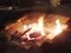 火がありました