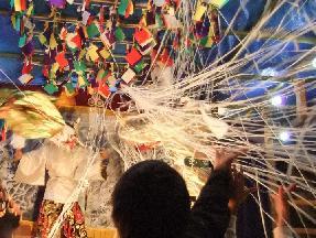 妖術!蜘蛛の糸