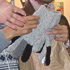 嶋田さんの手袋