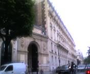 パリの住宅地