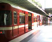 ニュルンベルグの電車