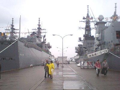 護衛艦艦内一般公開