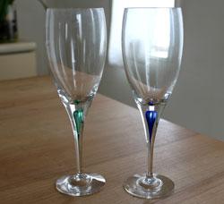 オレフォスのワイングラス、ボヘ...