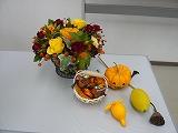 20081025 ハロウィンの飾りつけ