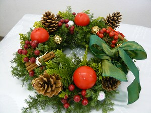 20081122 クリスマスリース