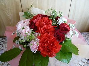 20090328 卒業の花束