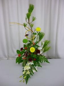 お正月アレンジ(2011.12.23)
