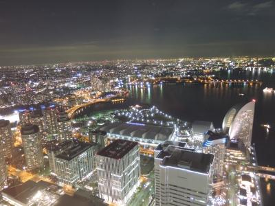 ランドマークタワー夜景