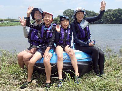 岡山の貸切川遊び