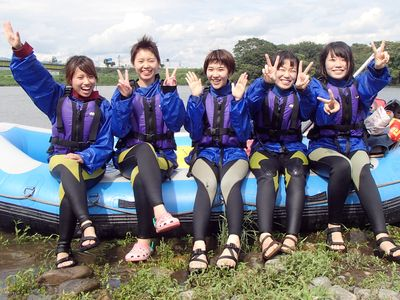 川遊び堪能女祭り!