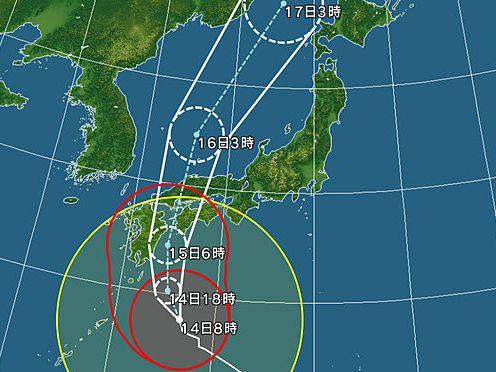 台風10号通過四訂