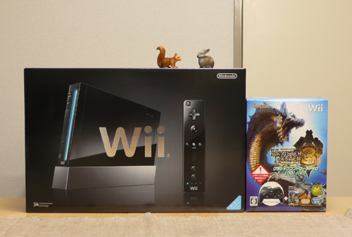 Wii(クロ)&モンハン3