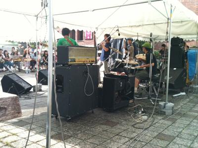 ラララ音楽祭ステージ