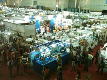 Brasil EXPOMINASエントランス会場ブース