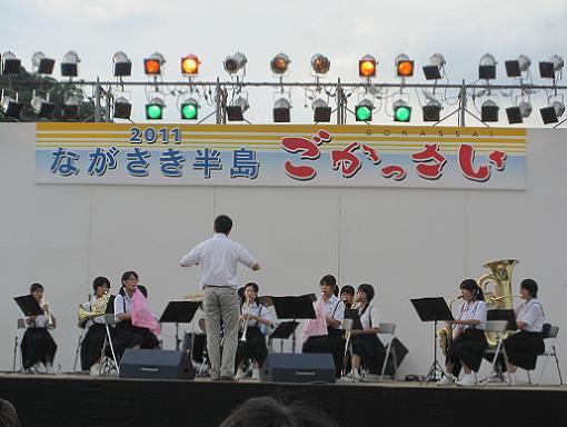 香焼小中学校ブラスバンド部