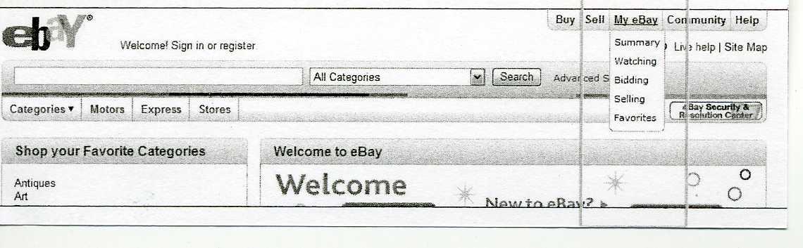 eBay(イーベイ)セラー登録1.