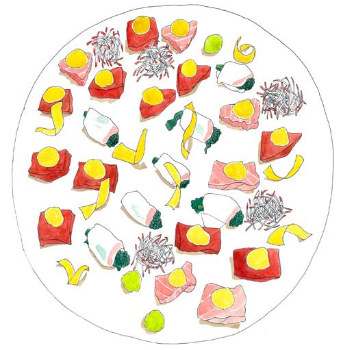 刺身 春 イラスト 料理