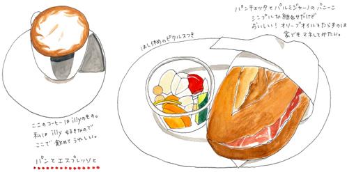 パン イラスト 今井夏子