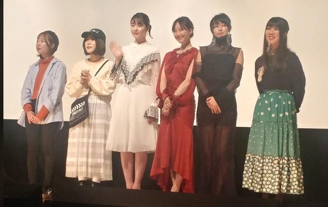 21世紀の女の子舞台挨拶