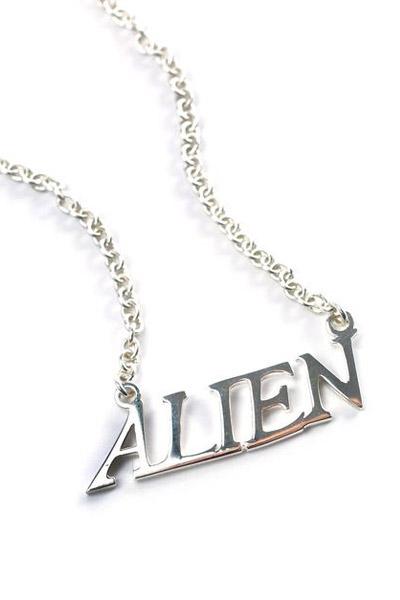 DISTURBIA CLOTHING (ディスタービア・クロージング) Alien Necklace