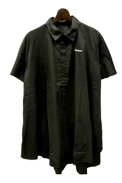 Zephyren (ゼファレン) PONCHO SHIRT S/S BLACK公式通販サイト