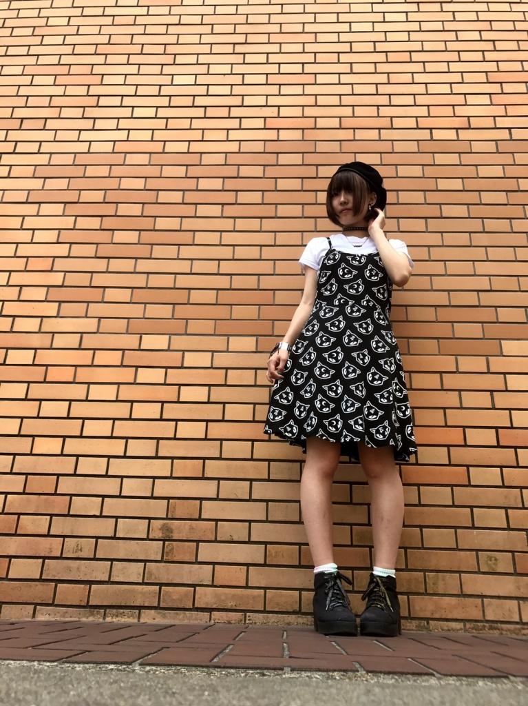 KILL STAR CLOTHING Kitty Kult Purr Grunge Skater Dress [B]公式通販サイト