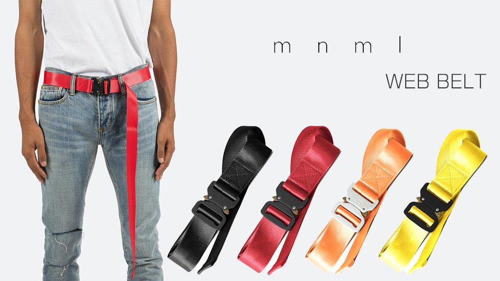 mnml公式通販サイト