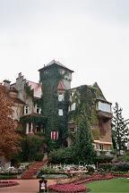 schloss 古城ホテルらしい外観